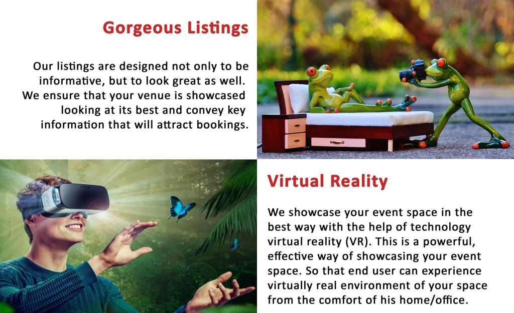 Gorgeous Listings, Virtual Reality