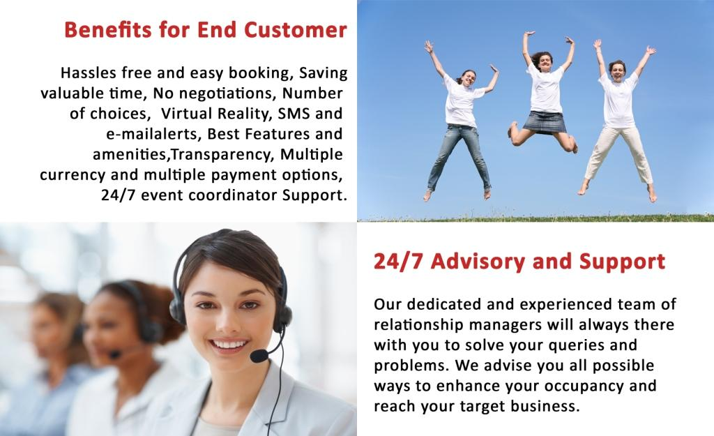 Benefits for End Customer, 24/7 Advisory and Support
