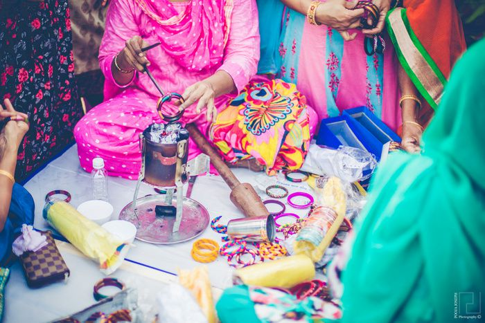 Bangle Making Live Stall