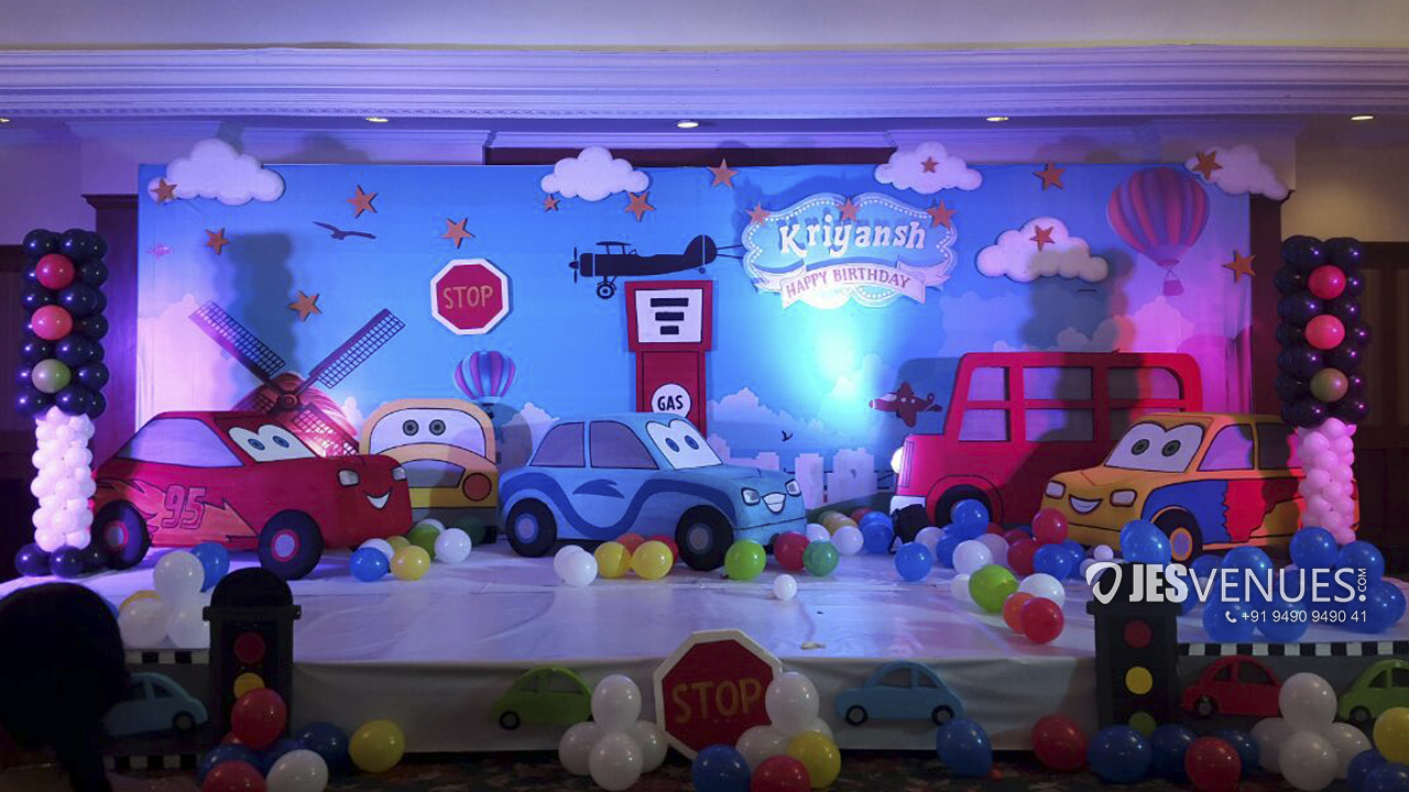 Disney Cars Theme Decoration