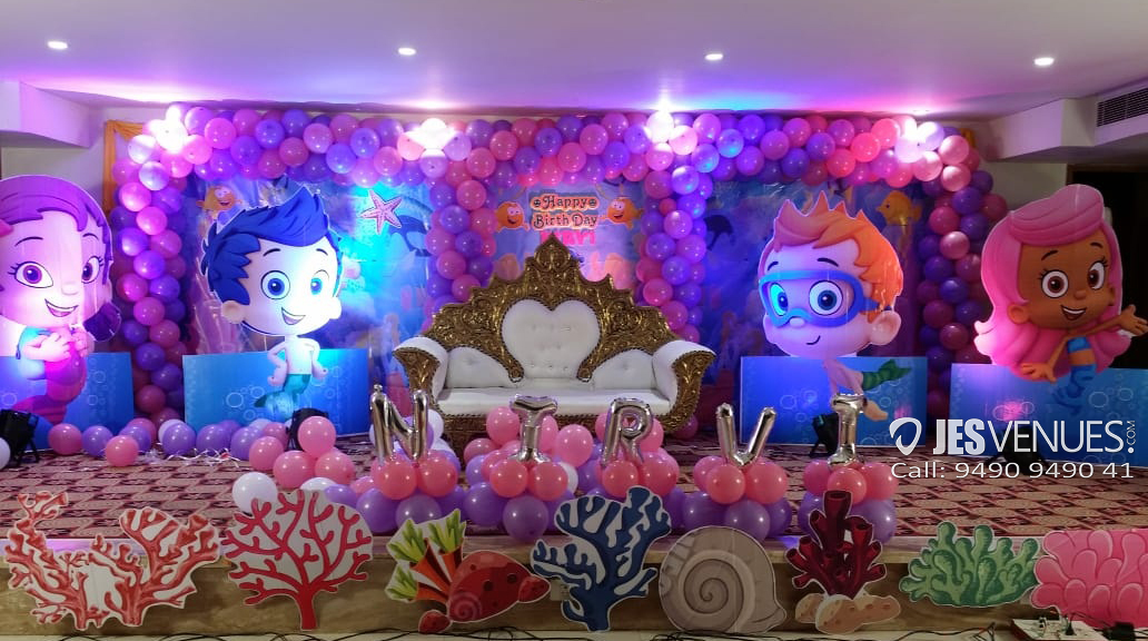 Bubble Guppies Theme Decoration For Birthday Party Or Kids Party