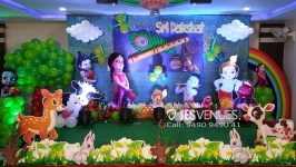 Little Krishna Theme Decoration for Birthday Party or Kids Party
