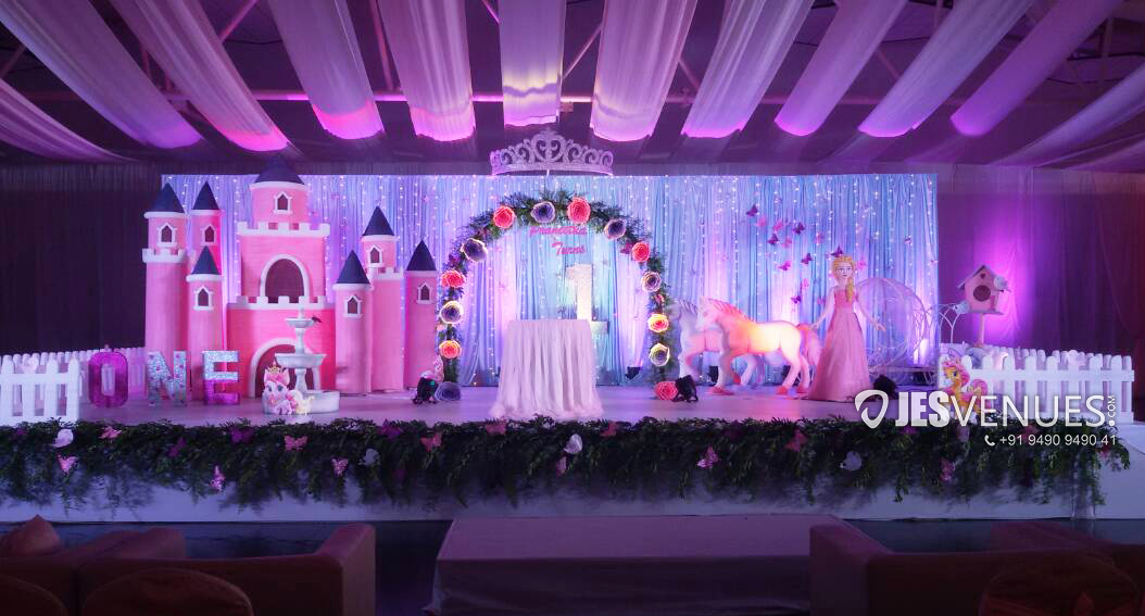 Princess Theme Decoration For Birthday Party Or Kids Party