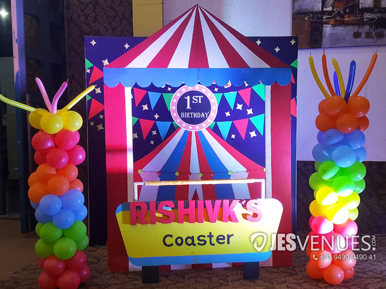 Carnival Theme Decoration For Birthday Party