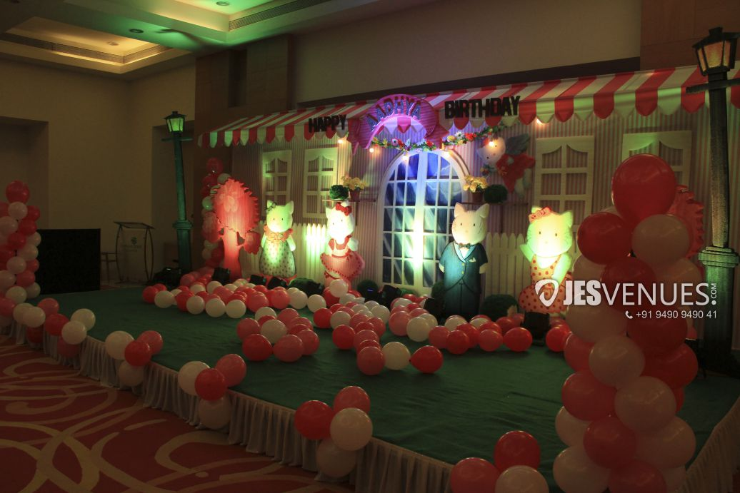 Hello Kitty Theme Decoration For Birthday Party, Baby Shower