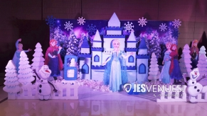 Frozen Theme Decoration for Birthday Party