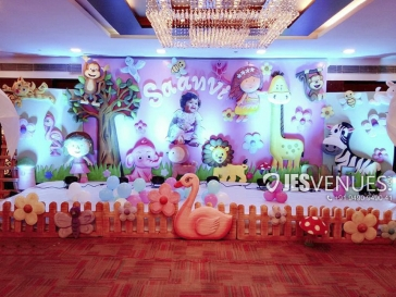 Little Animals Theme Decoration For Birthday Party Or Kids Party