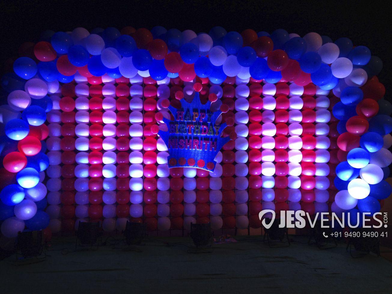 Balloon Wall Backdrop