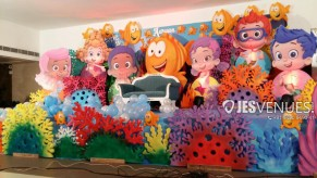 Bubble Guppies Theme Birthday Party or Kids Party Decoration