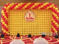 Balloon Wall Backdrop for Birthday Party or Kids Party
