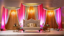 Simple and Decent Cloth Draping Decoration