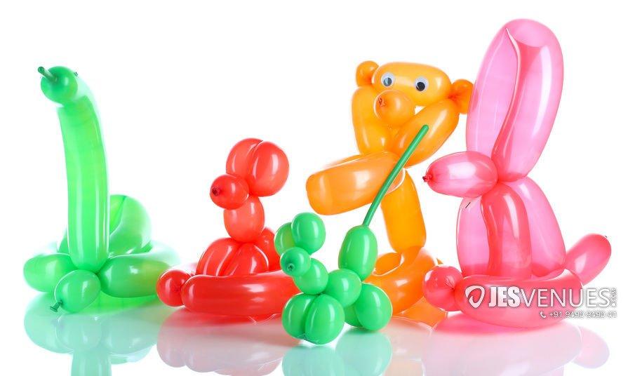 Balloon Twisting Live Stall