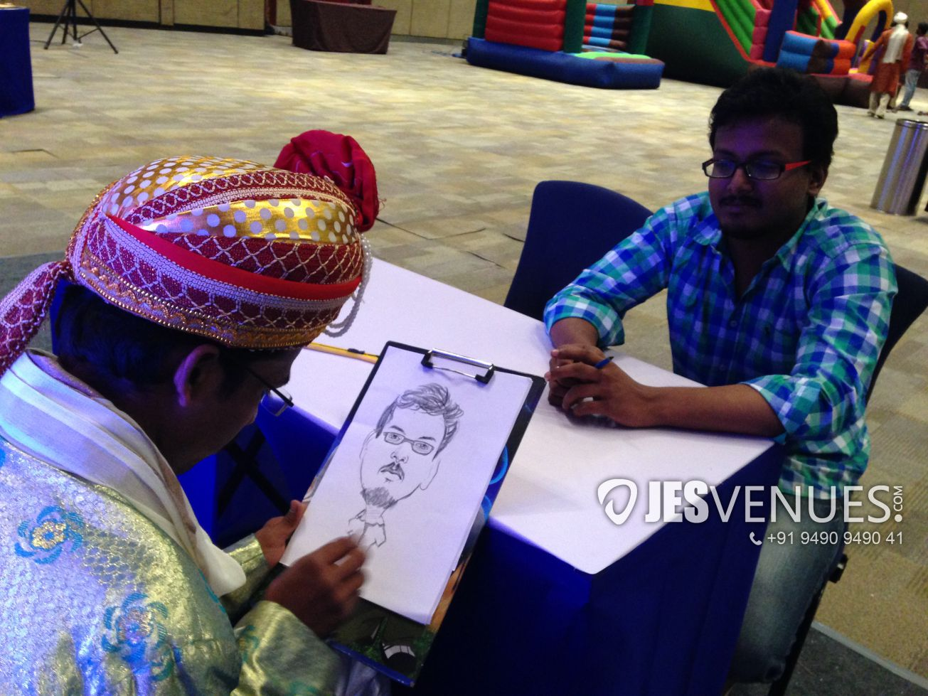 Caricature Live Stall