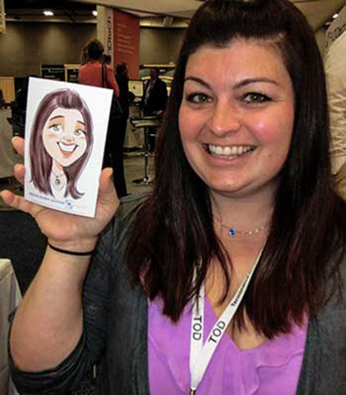 Digital Caricature Live Stall