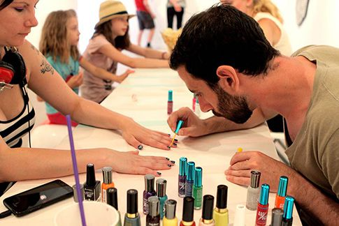 Nail Art Live Stall