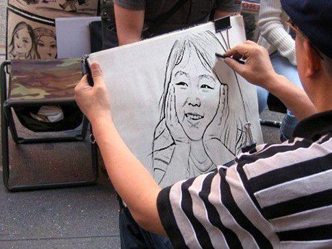 Portrait Live Stall