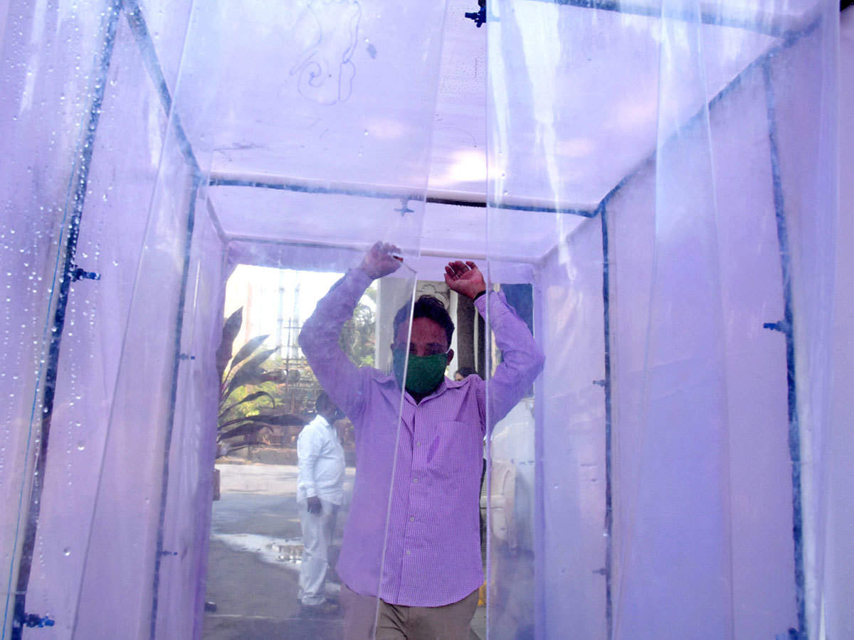 Disinfection Sanitizer Tunnel