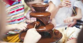 Chocolate Fountain Live Stall