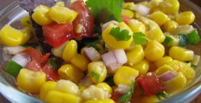 Sweet Corn Live Stall
